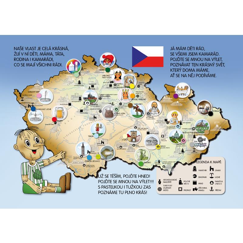 S Lipackem Na Vylet Po Mistech Obrazkove Mapy Ceske Republiky