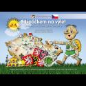 Soubor pracovních listů a labyrintů S Lipáčkem na výlet po místech obrázkové mapy ČR