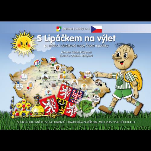 S Lipáčkem na výlet po místech obrázkové mapy České republiky