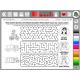 Interaktivní soubor pracovních listů a labyrintů Kreslíme a učíme se: S LIPÁČKEM NA VÝLET