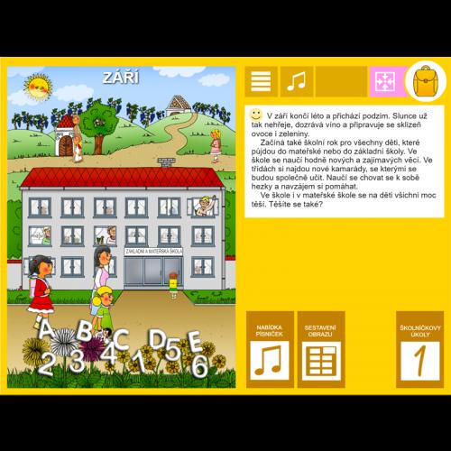 iŠkolička: interaktivní program Září