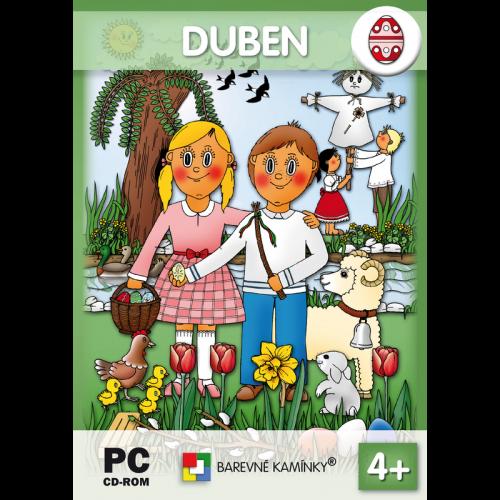 Interaktivní program Hrajeme si a učíme se: DUBEN