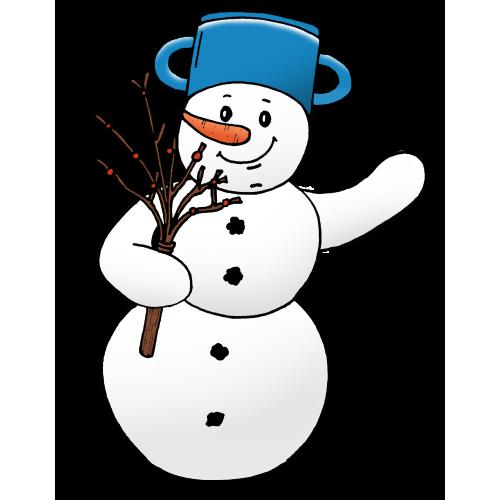 Hrajeme si a učíme se: LEDEN - průvodcem je Sněhulák