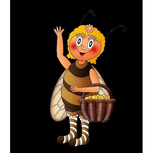 Hrajeme si a učíme se: ČÍM BUDU 1. - průvodcem je Pilná včelka