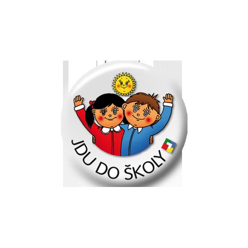 Odznak - Jdu do školy