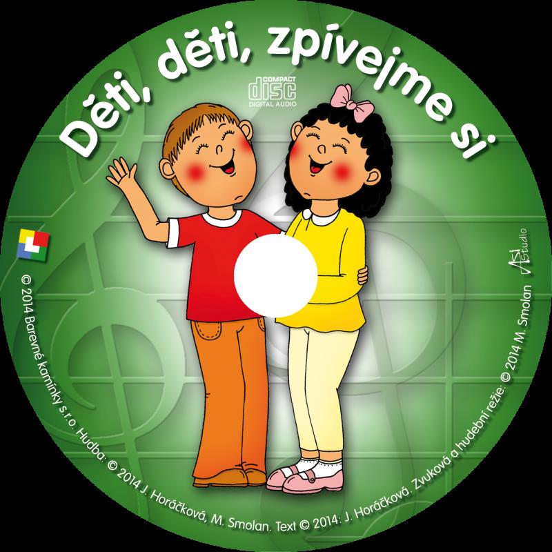 Děti, děti, zpívejme si - CD