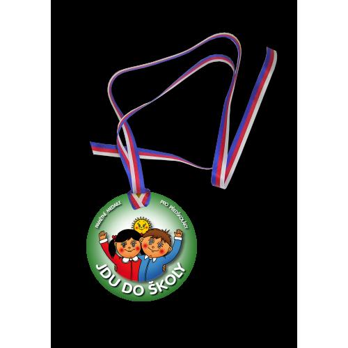 Medaile - Jdu do školy