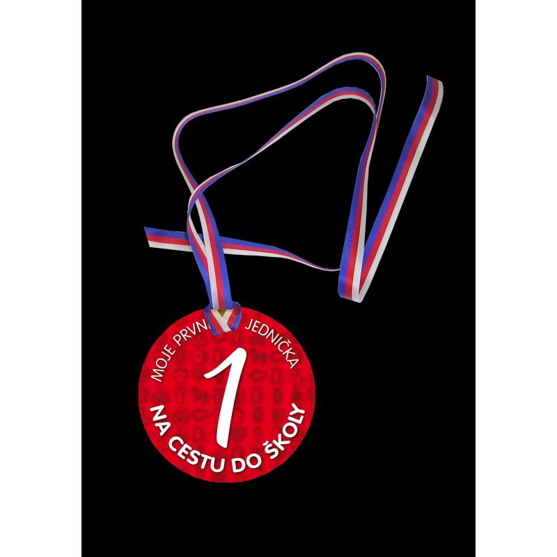 Medaile s jedničkou Na cestu do školy