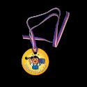 Medaile ze školičky za píli a aktivity