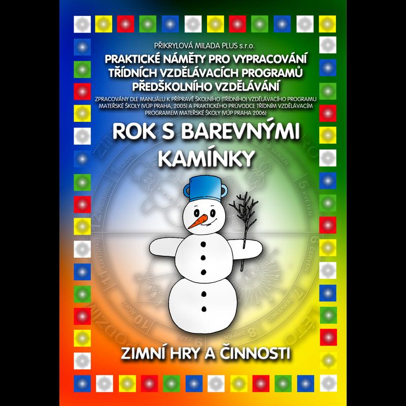 ePublikace: Rok s Barevnými kamínky - Zimní hry a činnosti