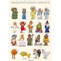 Tematický obraz: Pohádkové postavy a bytosti 2
