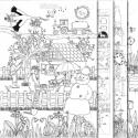 Černobílé obrazy A1 pro skupinové i individuální činnosti