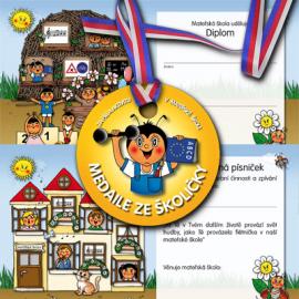 Diplomy, medaile a trička